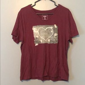 Other - Converse V Neck T Shirt